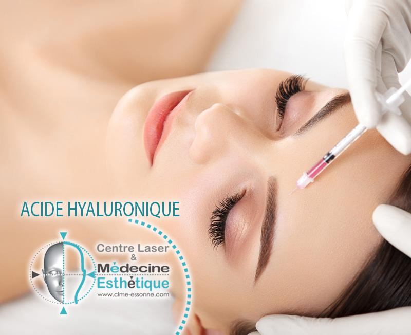» Centre Épilation Laser et Médecine Esthétique Essonne »Comblement des rides - Acide Hyaluronique - injections