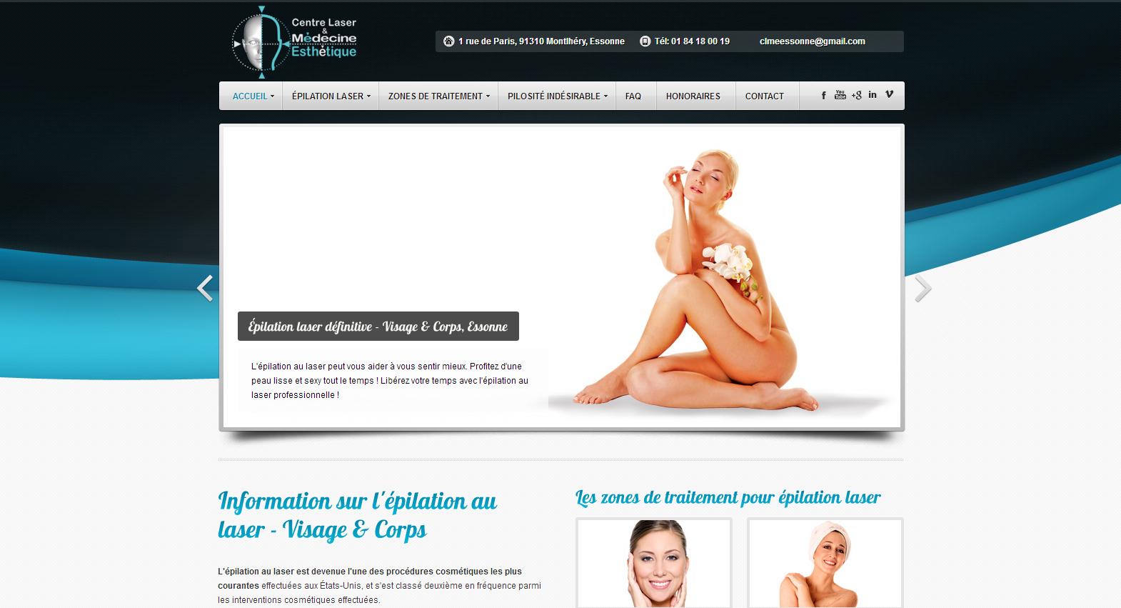 Épilation Laser définitive» Centre Épilation Laser et Médecine Esthétique - Essonne